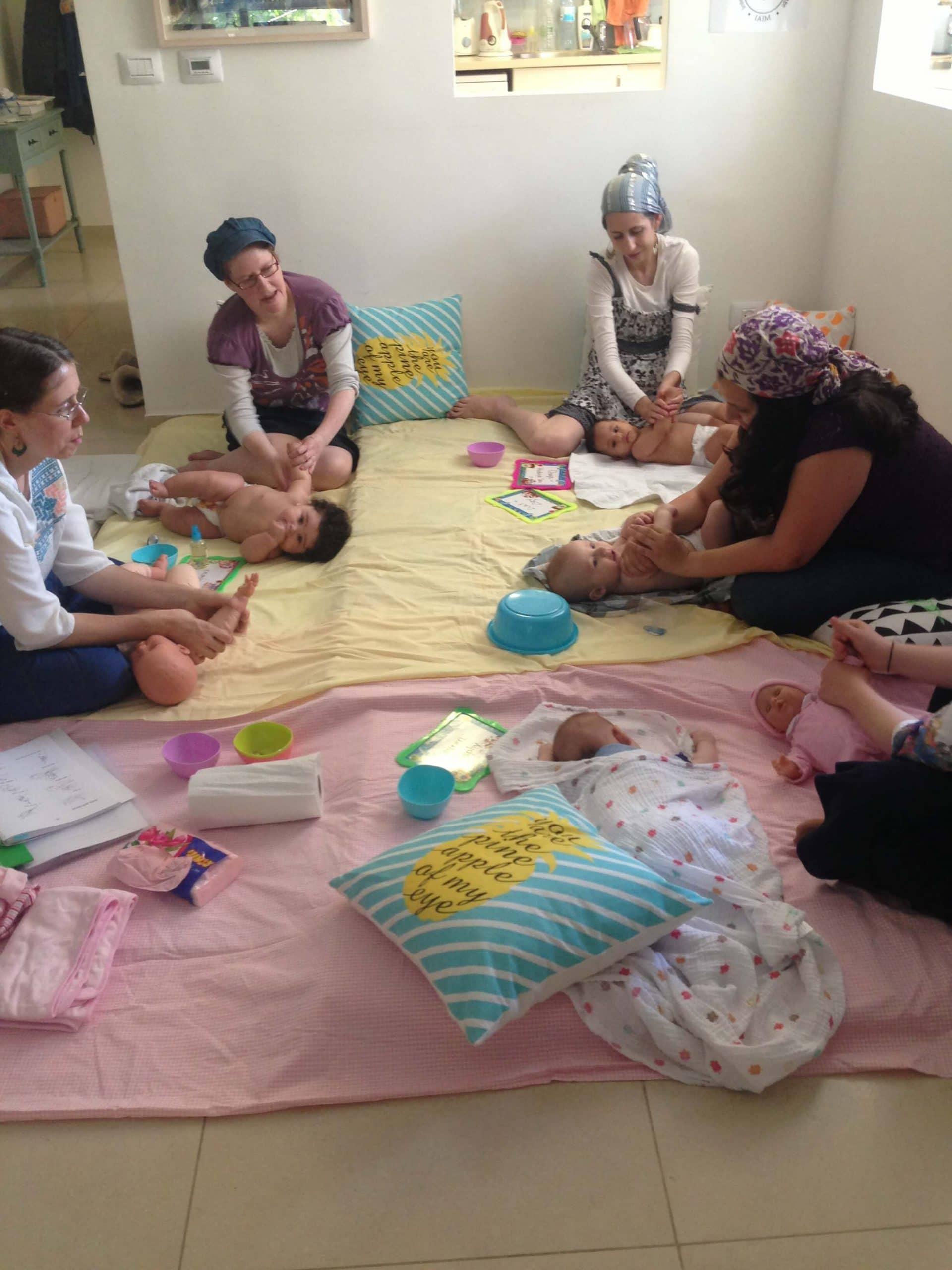 Infant massage classes